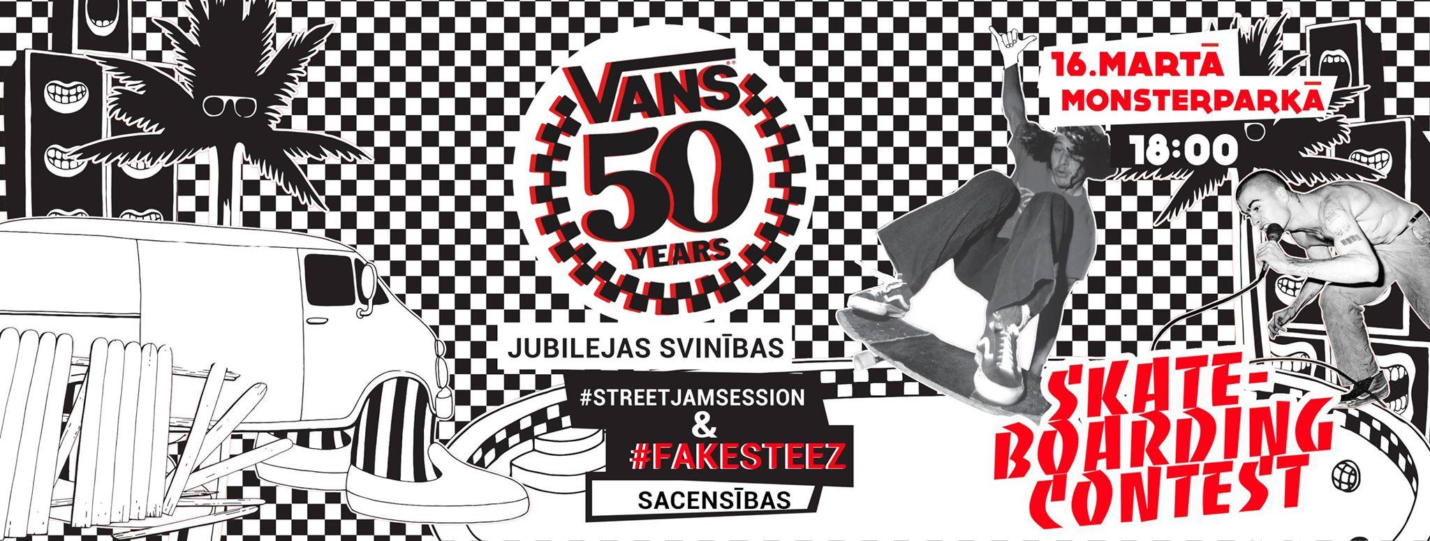 Vans 50 gadu jubileja