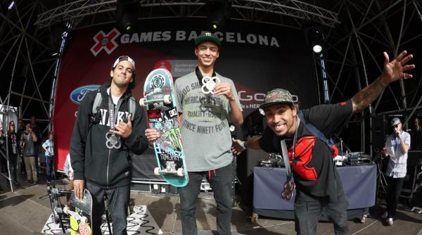 X GAMES BARSELONA 2013