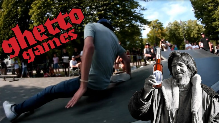 Skeitborda Sacensības Ventspilī Ghetto Games festivālā